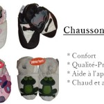 Les petits chaussons pour bébé, toujours à la mode !