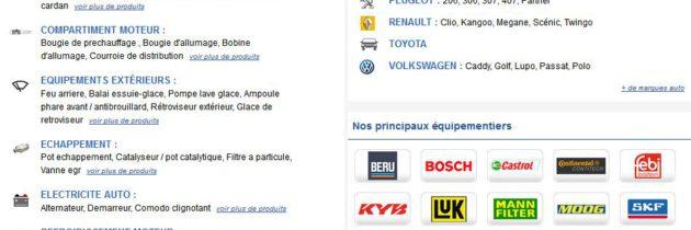 Vous cherchez un magasin de pièces auto pas cher en ligne ?