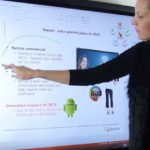 En milieu scolaire l'écran géant interactif fait des merveilles